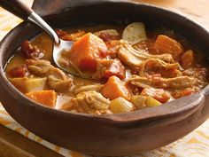 Slow Cooker African Groundnut Stew with Chicken