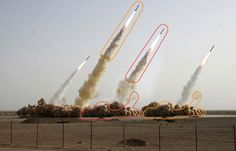 Photoshopped Iran Missile Launch:  Finished
