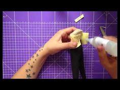 FOFUCHAS. cómo hacer un pantalón pitillo de talle alto y un top para una fofucha con curvas - YouTube