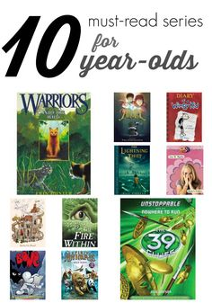 Looking for a great new book series for your 10-year-old? Our #RaiseaReader blog shares 12 series kids love. #kidsbooks