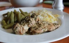 Crock Pot Pesto Ranch Chicken and Veggies #RSC