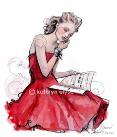 #Paper Fashion #RED
