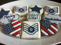 Air force, military, cookies!