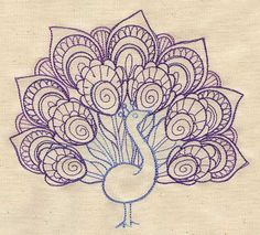 Un paon à fière allure peut s'avérer être un projet simple ou bien encore très compliqué, dépendamment du niveau de détail que vous ajoutez à son plumage. Profitez d'un tel projet pour choisir des couleurs vives!