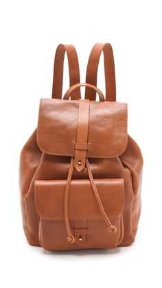 Leather Rucksack by Madewell  great #backpack