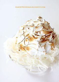 baked alaska with pOpcOrn ice cream
