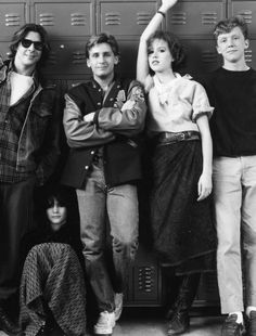 You see us as you want to see us: ... Sincerely yours, The Breakfast Club.