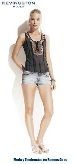 Kevingston Mujer verano 2014. Moda ropa de mujer marcas argentinas. Moda 2014.