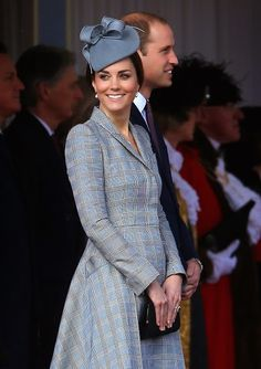 Dutchess Kate looked effortlessly stylish in McQueen as she enjoyed her day out as best she could despite her recent illness