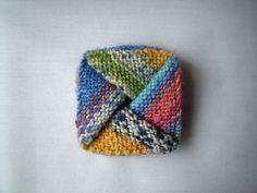 Ravelry pinwheel purse