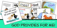 God Provides Bible Verse Printables