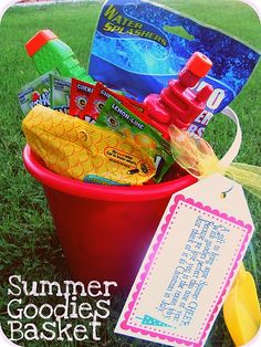 have this as a 'no more school - here we come summer' gift on the last day of school when they get home
