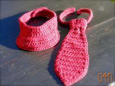 Ravelry: Little Man Neck Tie & Golf Visor pattern by Carrie Piper church outfits, man neck, golf visor, neck ties, blog, accessories, dog, crochet patterns, little boys