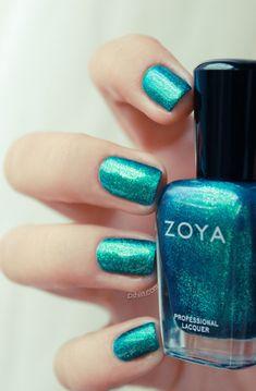 pretty color #nails
