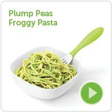 Plump Peas Pasta (hides peas)