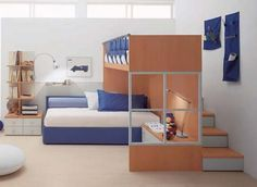 Small Bedroom For Three Kids | Creative Ideas
