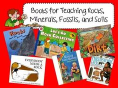 Books for teaching rocks and minerals