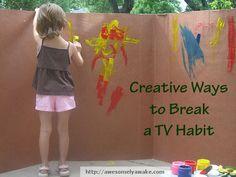 Imagination/breaking bad habit tips