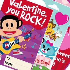 Printable valentines from Julius Jr.!