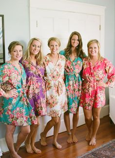 getting ready robes | Lucy O Photo #wedding