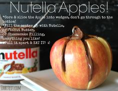 ~Nutella Apples!