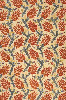 Ottoman Textile Turkey. Circa 17th Century.