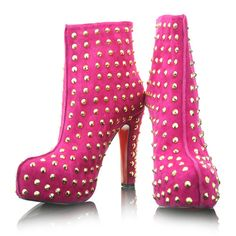 Hot Pink Punk Rock - Louboutin