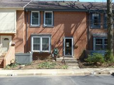 Townhouse Makeover - Curb Appeal, 45 year old townhouse gets a new front yard. Before...