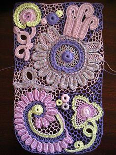 More Irish lace motifs
