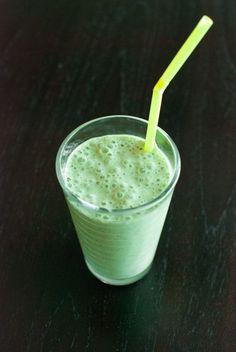 Healthy Shamrock Shake recipe!