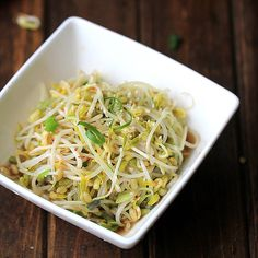Mung Bean Sprouts (How to Sprout Mung Bean at home and Salad )