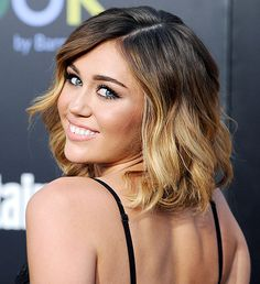 ombre color balayage, short hair