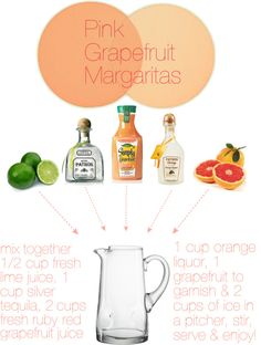 Duley Noted Style: Thirsty Thursday - Pink Grapefruit Margaritas