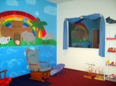 Sunday School Murals for Infants and Toddlers