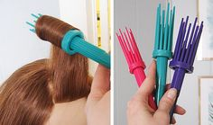 tool to help for a victory roll hair.