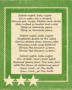 Silent night/Christmas