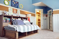 corkboard border, boy bedrooms, bulletin boards, cork boards, noah bedroom, aaron bedroom, hous, kid room, boy room