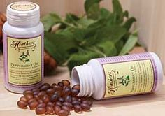 Heather's Tummy Tamers Peppermint Oil Caps have been clinically proven to reduce IBS symptoms!