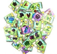 PLANTS VS ZOMBIES NOTEBOOK STICKER SUITCASE PENCIL BOX STICKER COMPLETE 48 PCS