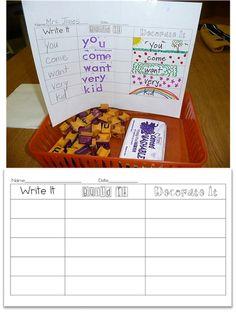 Word Work Idea