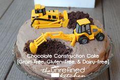 Paleo Construction Cake