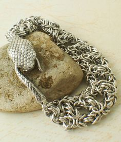 Grand Snake Bracelet III Kit Aluminum by UnkamenSupplies on Etsy