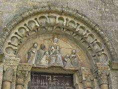 """""""San Fix de Solovio"""", Santiago de Compostela (Spain). La iglesia más antigua de la ciudad se remonta al siglo IX."""