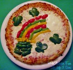 st. patrick's day pizza