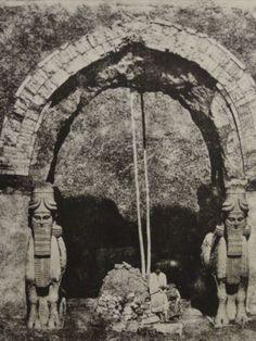 Assyrian gateway.