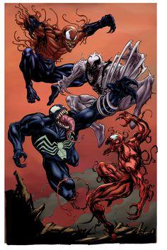 Anti Venom vs Toxin | Venom Carnage AntiVenom and Toxin SOTD -by Atkins by h4125