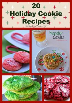 Holiday cookies recipes