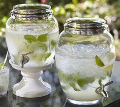 Glass Drink Dispenser from Pottery Barn