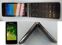 Samsung Galaxy Folder flaunts its dual-screen flip design for the camera