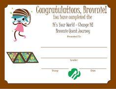 Brownie Quest Journey Certificate -- http://media-cache-ec4.pinimg.com/originals/10/83/11/108311f08d4840e1bb418e72aa172cdb.jpg